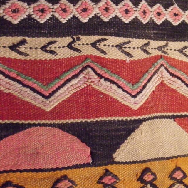 """Close up Moroccan Carpet Marrakesh"" stock image"