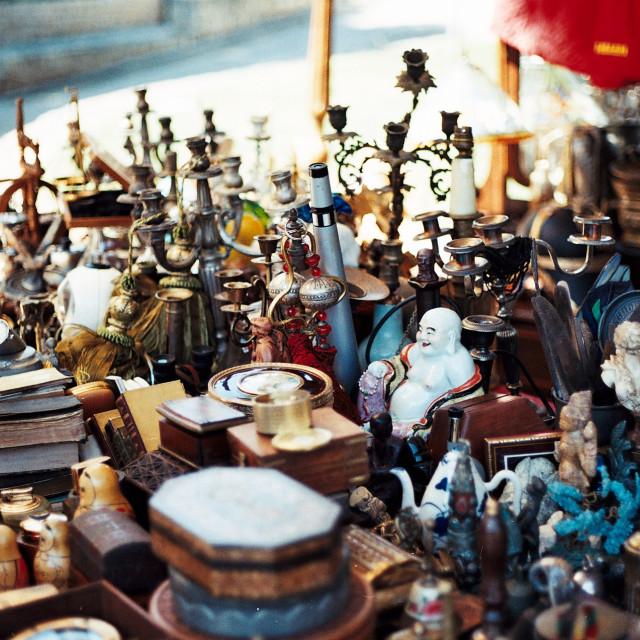 """Markets of Split, Croatia"" stock image"