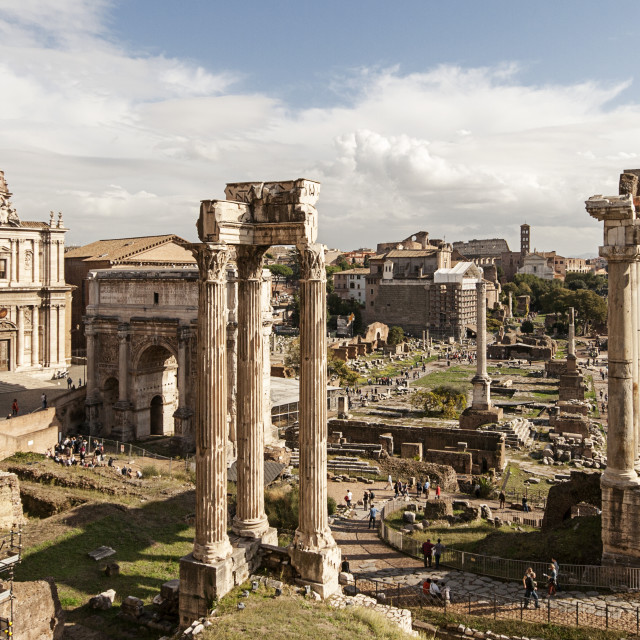 """Forum In Rome"" stock image"