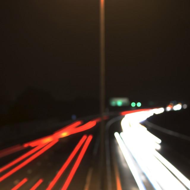 """""""The Motorway"""" stock image"""