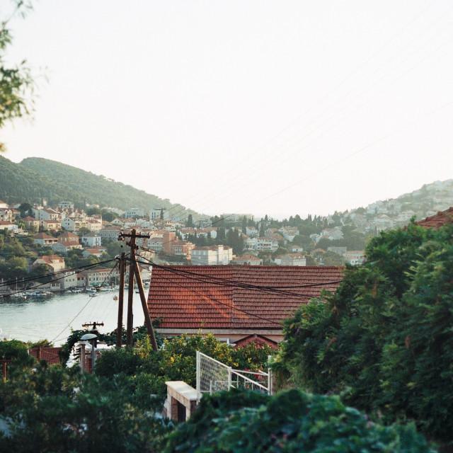 """""""Rooftops in Dubrovnik, Croatia"""" stock image"""
