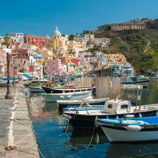 """""""Procida, Italy"""" stock image"""