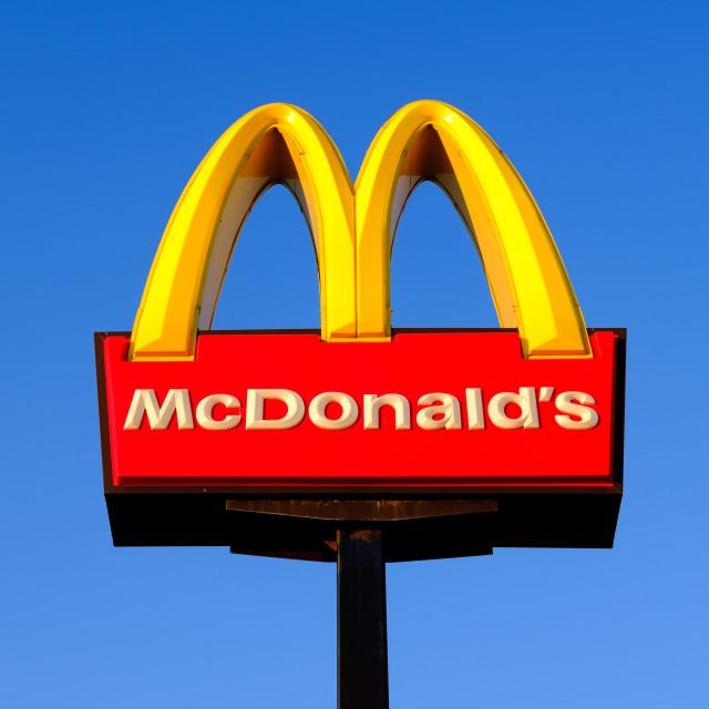 """Mcdonalds ."" stock image"