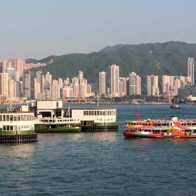 """Hong Kong ferries"" stock image"