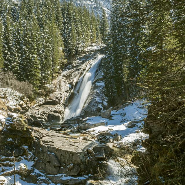 """Krimml Waterfall, Austria"" stock image"