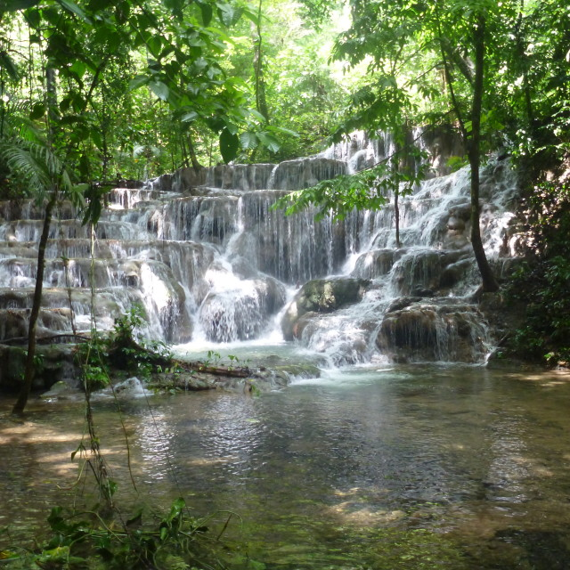 """""""Cascadas Palenque"""" stock image"""