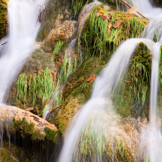 """Water Cascade"" stock image"