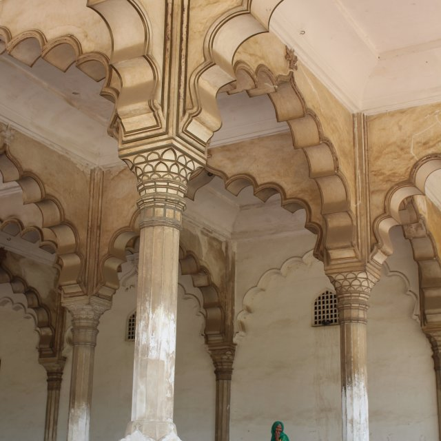 """""""Inside the Red Fort"""" stock image"""