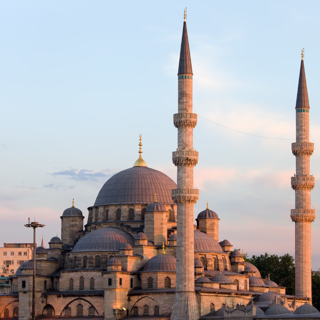 """New Mosque in Istanbul"" stock image"