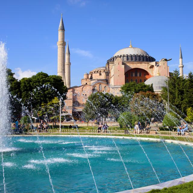 """Hagia Sofia in Istanbul"" stock image"