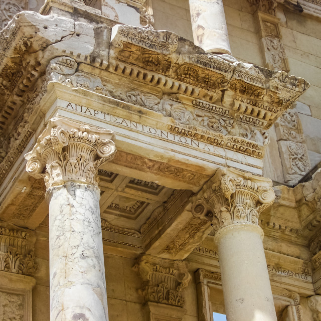 """""""Celsus Library"""" stock image"""