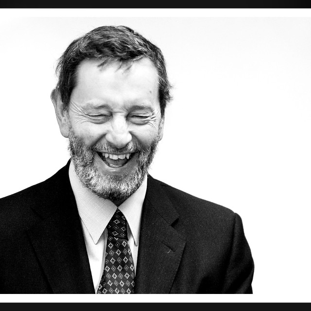 """David Blunkett MP"" stock image"