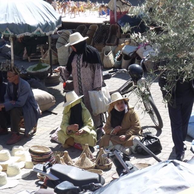 """Berber Market Marrakesh"" stock image"