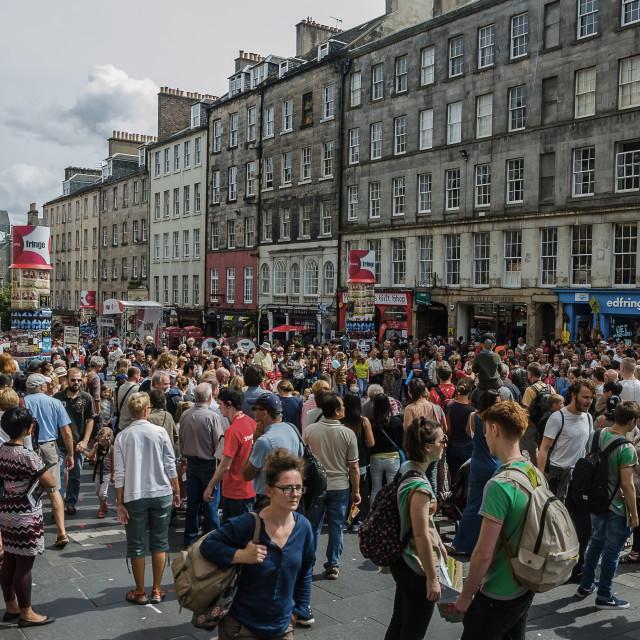 """""""Edinburgh Fringe"""" stock image"""