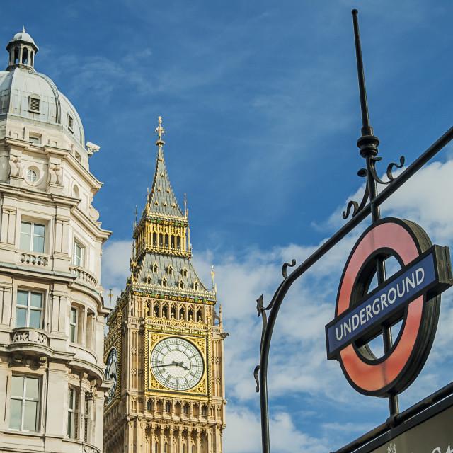 """Big Ben At Westminster"" stock image"