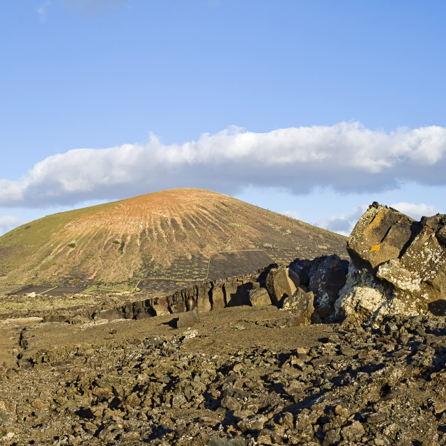 """Volcanic Landscape"" stock image"