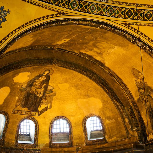 """""""Hagia Sophia Architectural Details"""" stock image"""