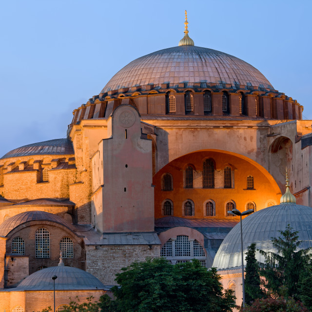 """Hagia Sophia at Dusk"" stock image"