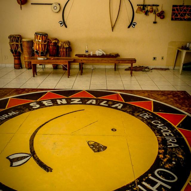 """Capoeira in Rio"" stock image"