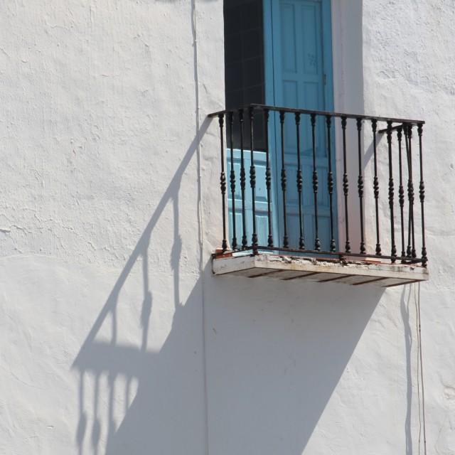 """Spanish balcony"" stock image"