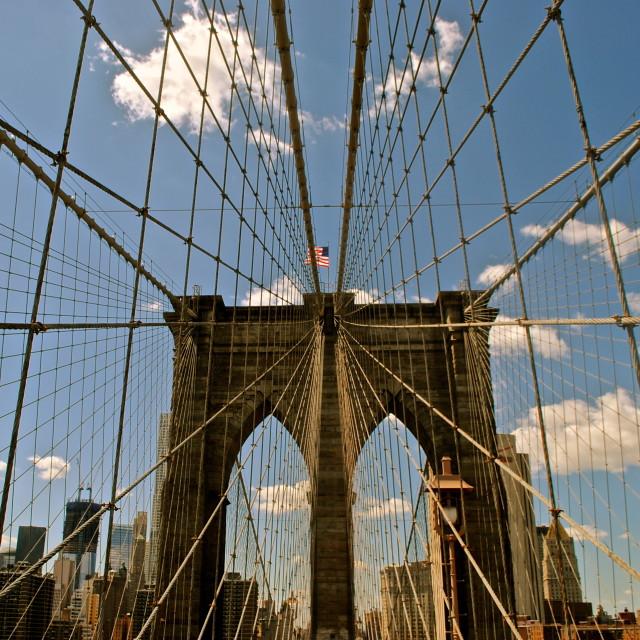 """Brooklyn Bridge, NYC"" stock image"