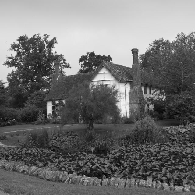 """The Brockhampton Estate Greyscale"" stock image"