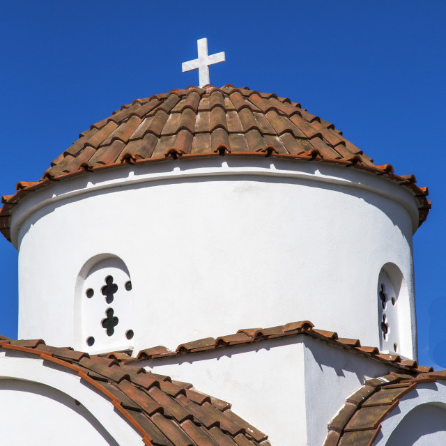 """Greek Church"" stock image"