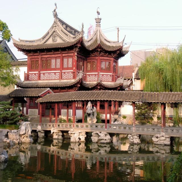"""Chinese garden"" stock image"