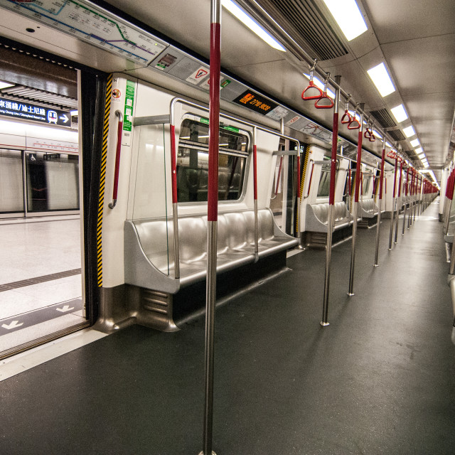 """""""Hong Kong MTR"""" stock image"""