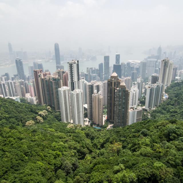 """""""Hong Kong Island"""" stock image"""