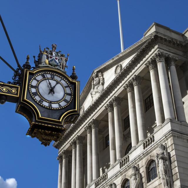 """Bank of England"" stock image"