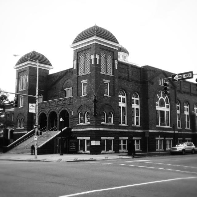 """16th Street Baptist Church"" stock image"