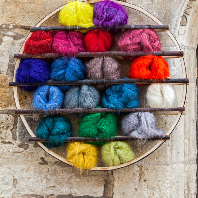 """Dyed in the Wool-2"" stock image"