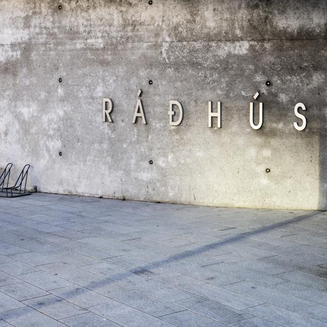"""Reykjavik architecture"" stock image"