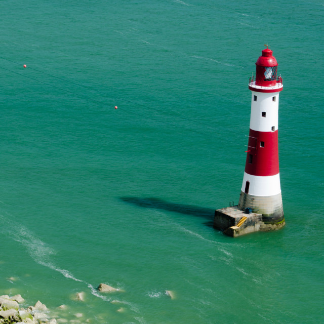 """Beachy Head Lighthouse (3)"" stock image"