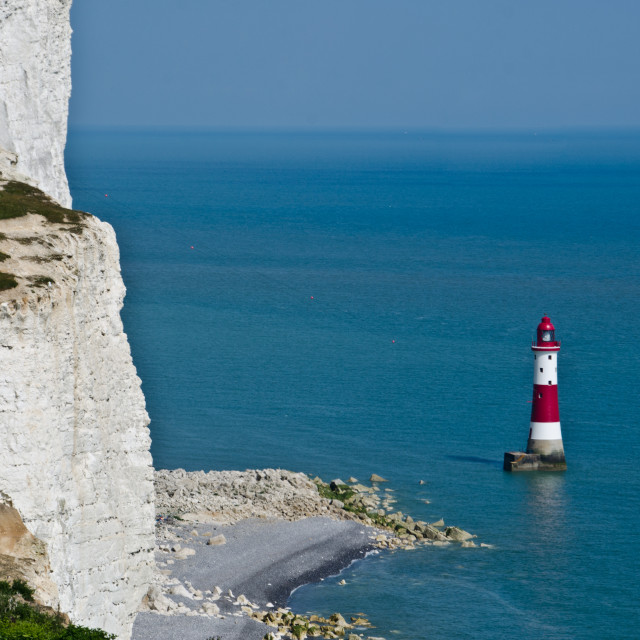 """Beachy Head Lighthouse (1)"" stock image"