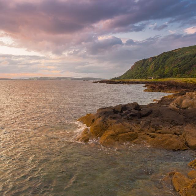 """""""Scottish Coastline"""" stock image"""