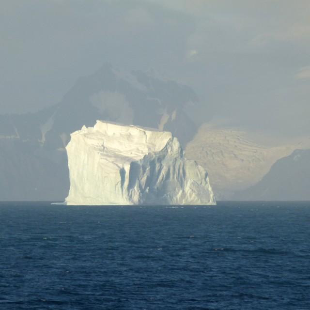 """Giant iceberg"" stock image"
