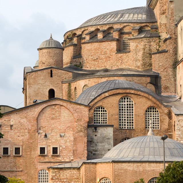 """""""Hagia Sophia Byzantine Architecture"""" stock image"""