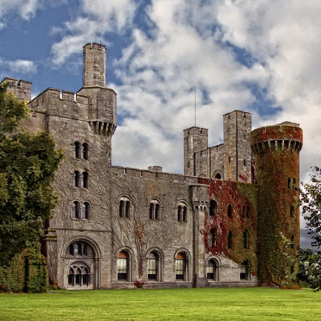 """""""Penrhyn Castle"""" stock image"""