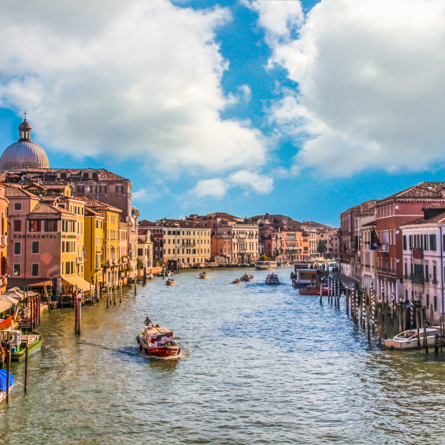 """Venice city of canals"" stock image"
