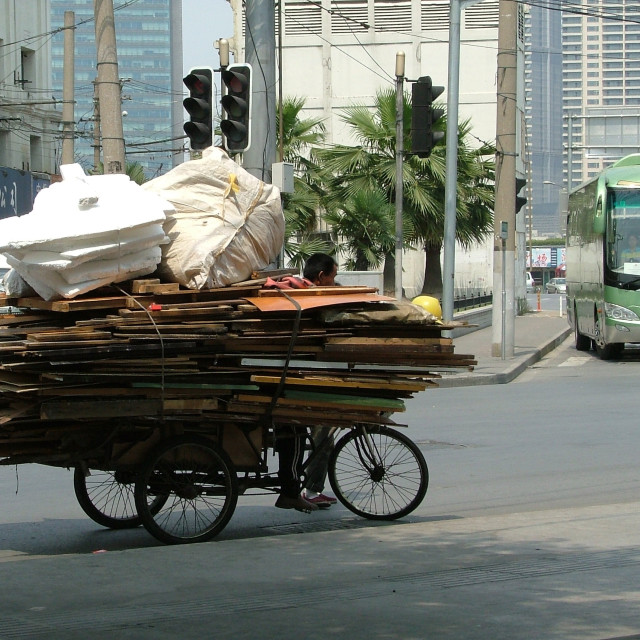 """Transport Shanghai Style"" stock image"