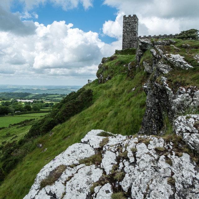 """Brentor view"" stock image"