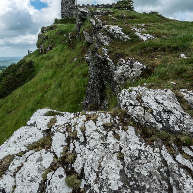 """Brentor rocks"" stock image"