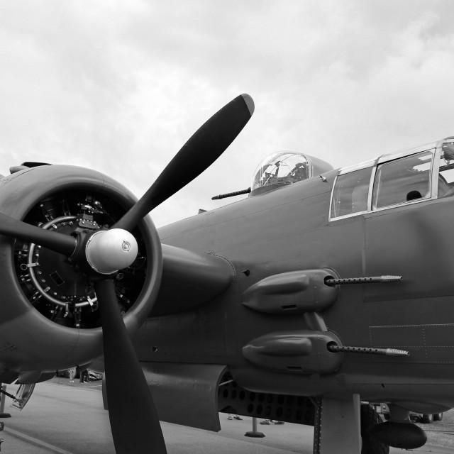 """B25 Bomber"" stock image"