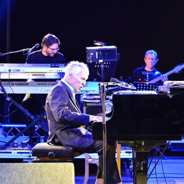 """""""Bacharach at piano"""" stock image"""