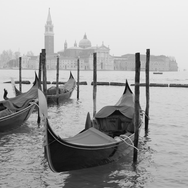 """Gondola for hire"" stock image"