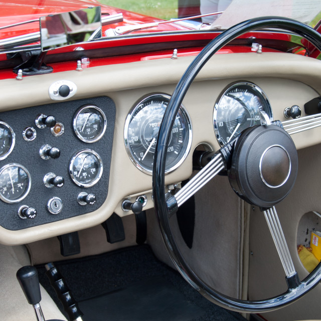 """Triumph Interior"" stock image"