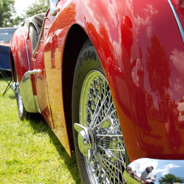 """""""Triumph TR3A"""" stock image"""