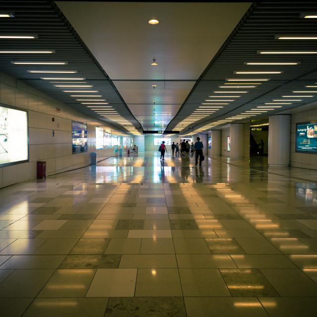 """Metro entrance"" stock image"